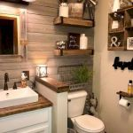 59 Best Farmhouse Wall Decor Ideas for Bathroom (48)