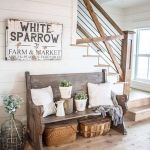 75 Best Farmhouse Wall Decor Ideas for Living Room (29)