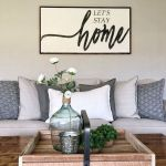 75 Best Farmhouse Wall Decor Ideas for Living Room (60)