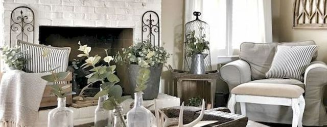 75 Best Farmhouse Wall Decor Ideas for Living Room (71)