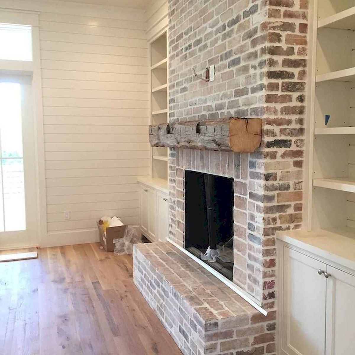 The Best Fireplace Ideas for Farmhouse (17)