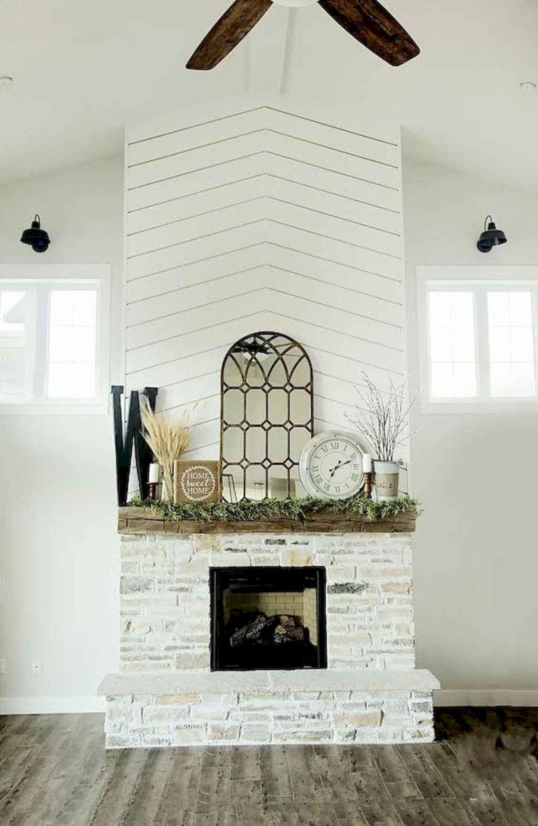 The Best Fireplace Ideas for Farmhouse (18)