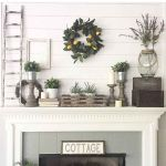 The Best Fireplace Ideas for Farmhouse (19)