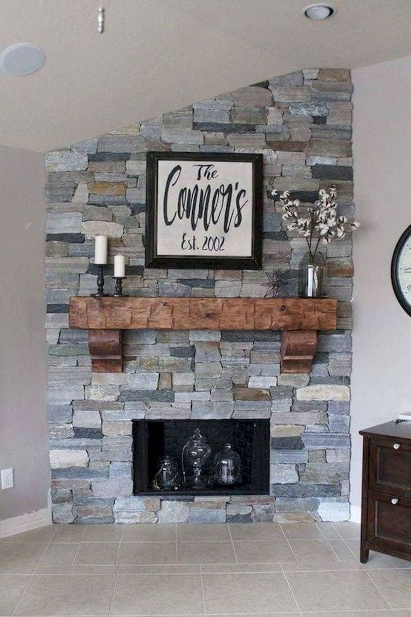 The Best Fireplace Ideas for Farmhouse (40)