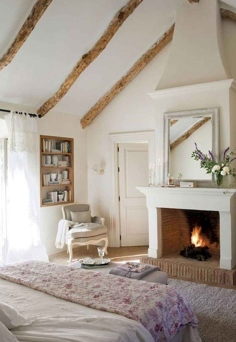 The Best Fireplace Ideas for Farmhouse (9)