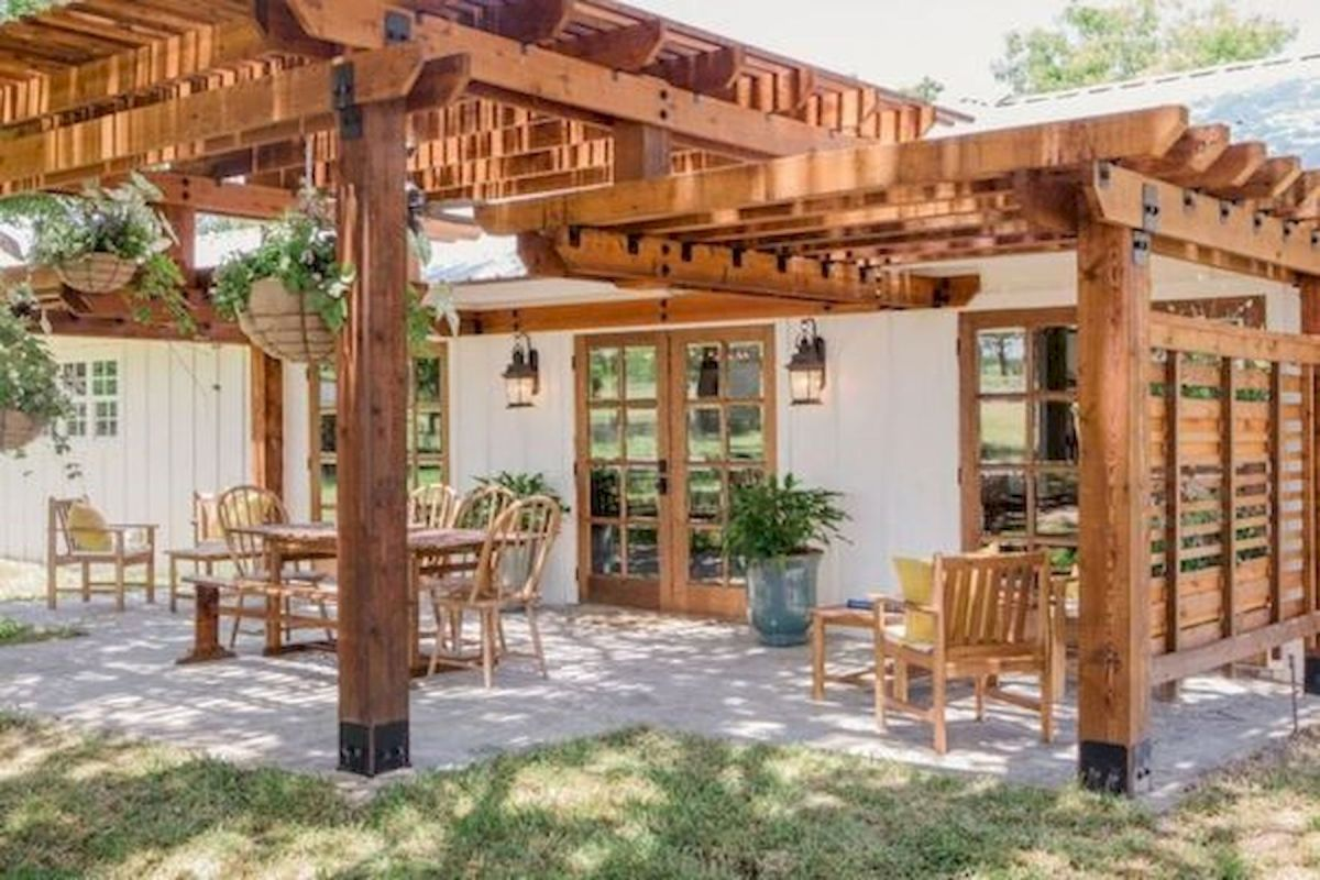 The Best Idea for Farmhouse Pergola (17)