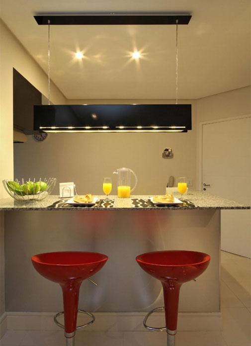 Cozinha americana pequena 16  ideabrasilcombr