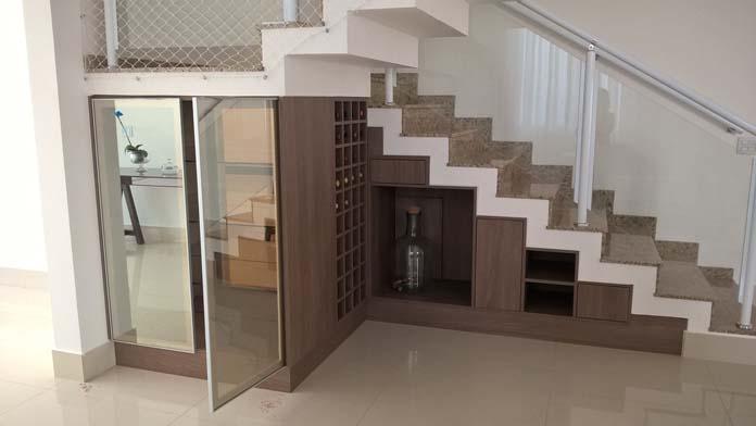 Cozinha Americana Com Escada Beautiful Dicas De Decorao