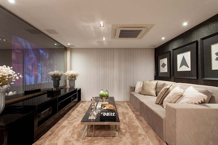 Sala moderna  Veja como decorar mais incrveis dicas e