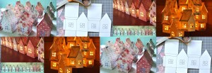 Paper House Luminaries and Mobile