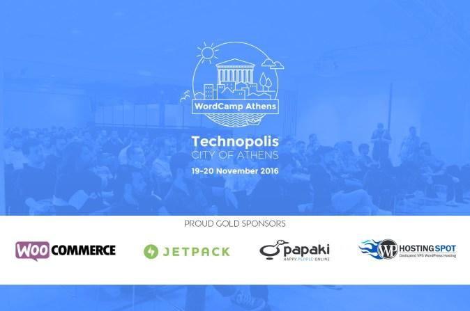 Aυτοί Είναι Οι Gold Sponsors του WordCamp Athens