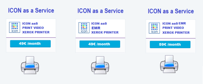 Grafimedia ICON aaS Subscriptions by Month
