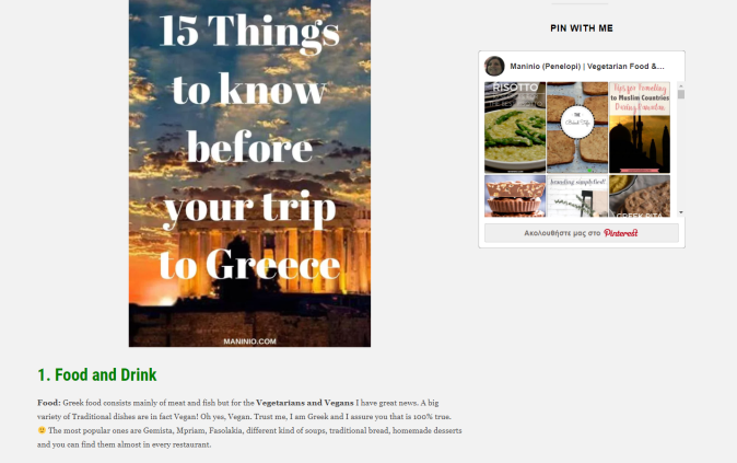 15 Things to Know Before your Trip to Greece by Maninio Food and Travel Blog