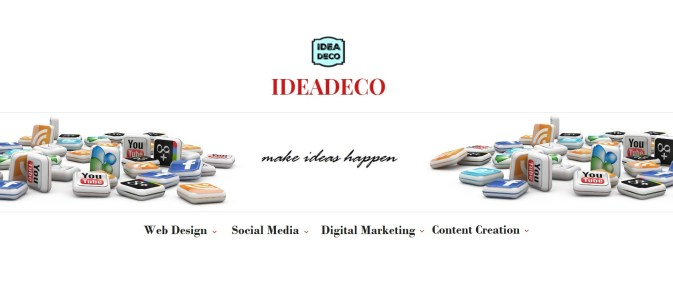 Areti Vassou and Ideadeco Make Ideas Happen at Digital Marketing, Web Design and Social Media Strategy