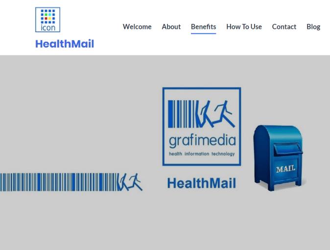 HealthMail App by Grafimedia