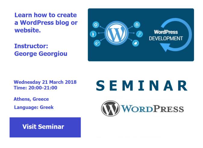 WordPress Development Seminar