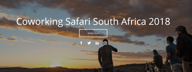 Coworking Safari 2018