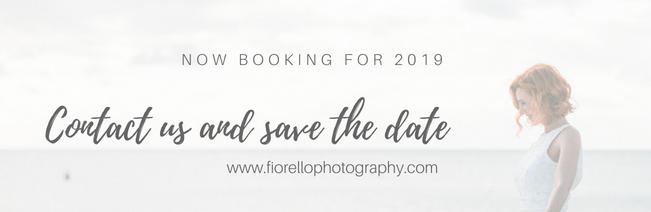 Now booking for 2019 Fiorello Photography
