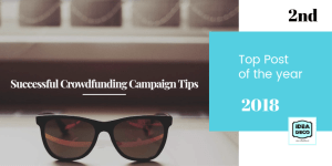 Successful Crowdfunding Campaign Tips by Areti Vassou Ideadeco