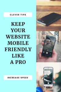 Keep your website mobile friendly like a pro
