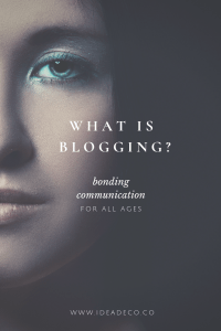 What is blogging? by Areti Vassou