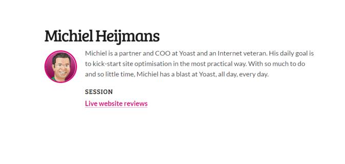 Live website reviews by Michiel Heijmans
