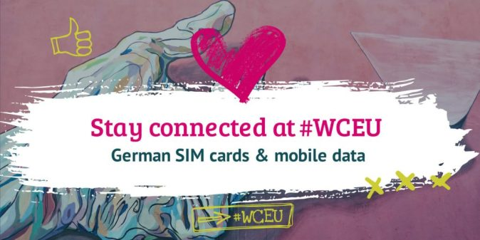 How to stay connected at #WCEU