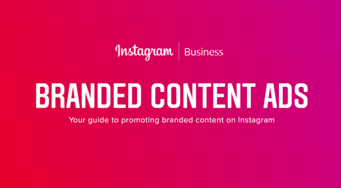 Instagram Branded Content Ads