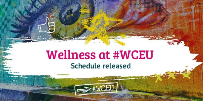 Reconnect with yourself at #WCEU