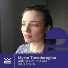 Speaker Myrto Theodoroglou WordCamp Thessaloniki 2019