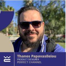 Speaker Thanos Papavasileiou WordCamp Thessaloniki 2019