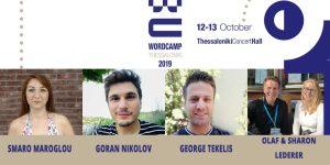 Meet the Speakers of WordCamp Thessaloniki 2019