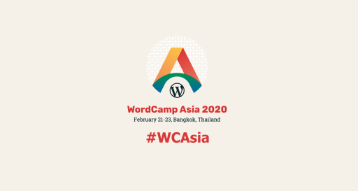 Join WordCamp Asia 2020 #WCAsia