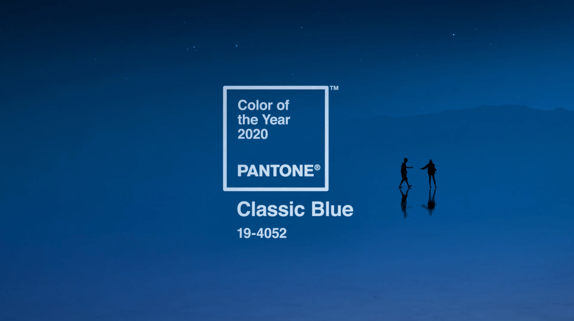 Blue Pantone Color of the Year 2020