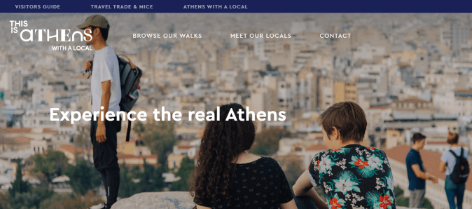 Experience the real Athens