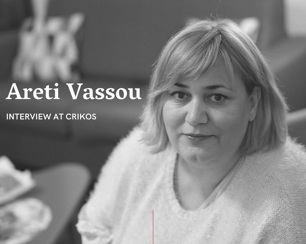 Read the New Interview of Areti Vassou at Crikos