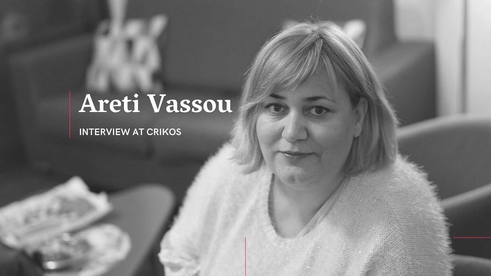 Areti Vassou Interview at Crikos