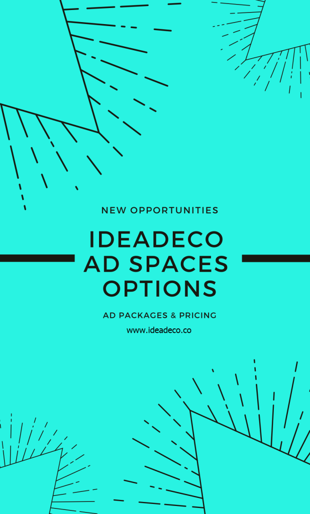 If you are interested to reach new audiences then feel free to contact us for our Ad Spaces packages and pricing and we will send you our detailed ad plan.