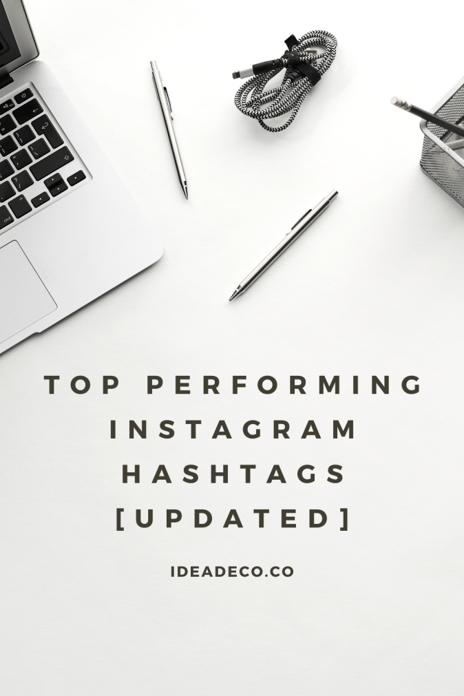 Top Performing Instagram Hashtags [Updated]
