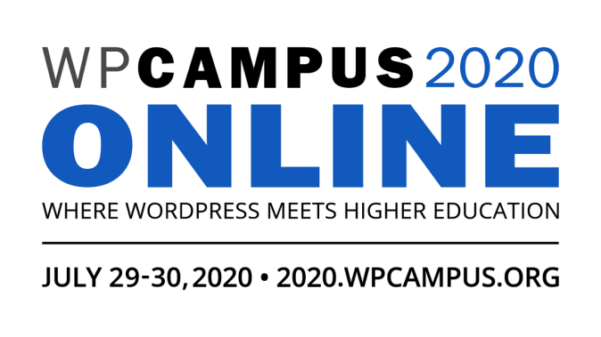 WPCampus 2020 Online Conference