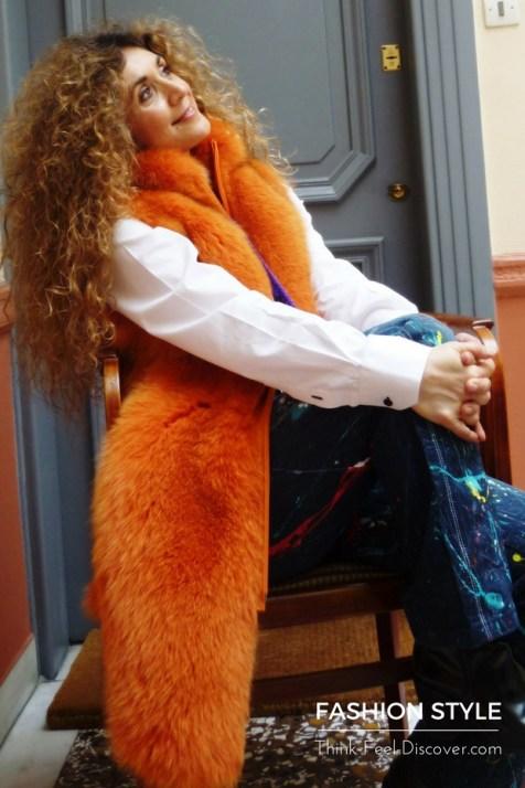 Fashion in the city with Chrysanthi Kosmatou Fashion Stylist