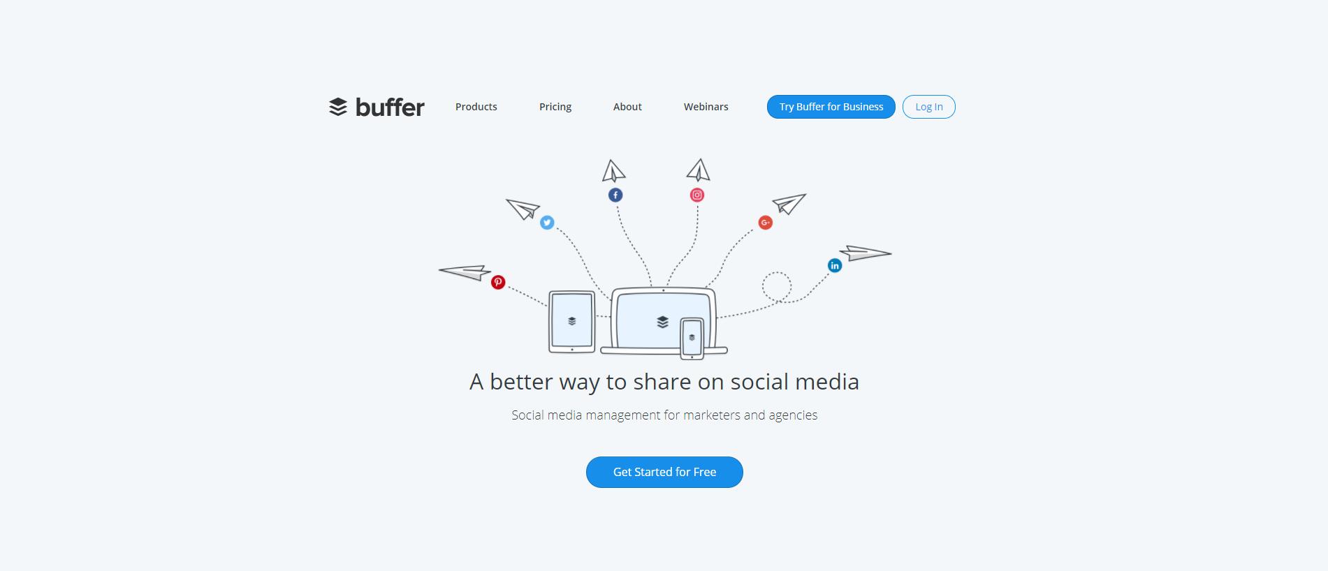 Social Media Sharing with Buffer
