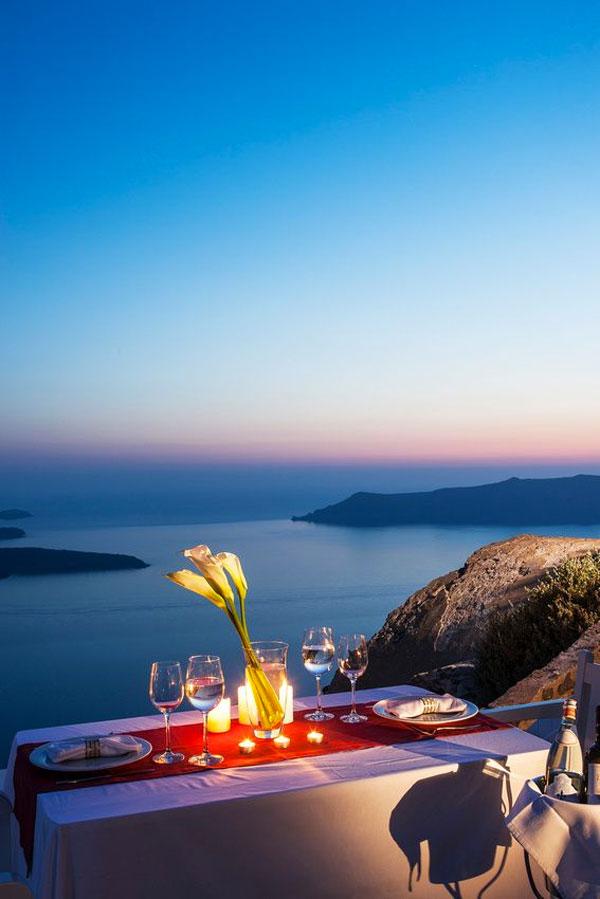 Cena romantica destate 20 posti con atmosfera romantica