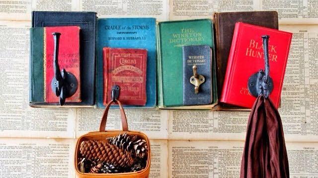 Riciclo creativo libri 28 idee da copiare