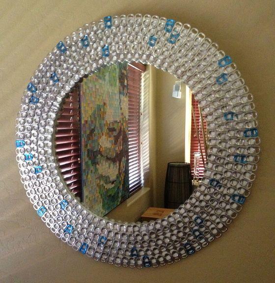 Riciclo creativo linguette delle lattine Ecco 20 idee
