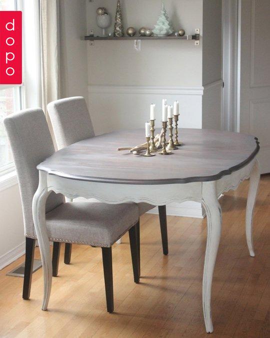 Rinnovare vecchio tavolo Questo  bellissimo