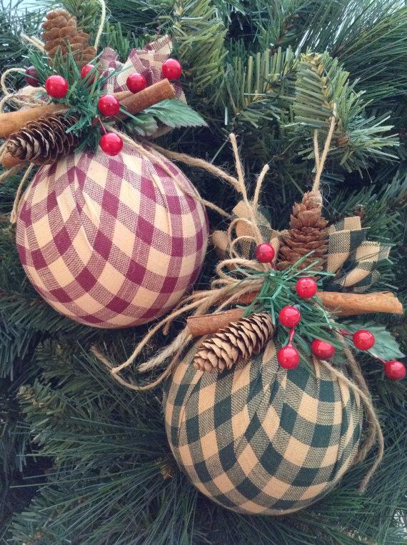 Decorazioni fai da te per lalbero di Natale 20 idee