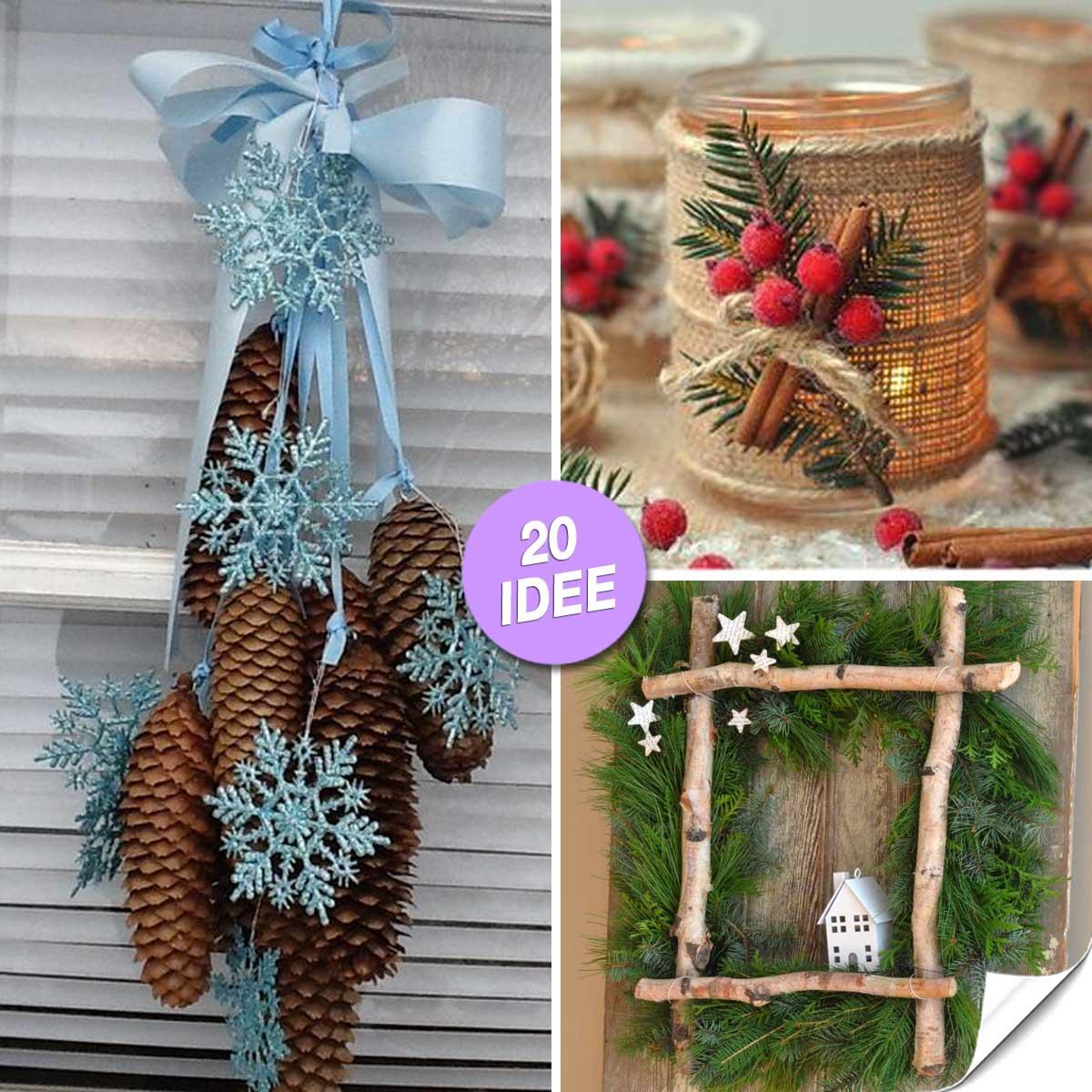 Decorazioni Natalizie Giardino Fai Da Te.Idee Addobbi Natale Giardino