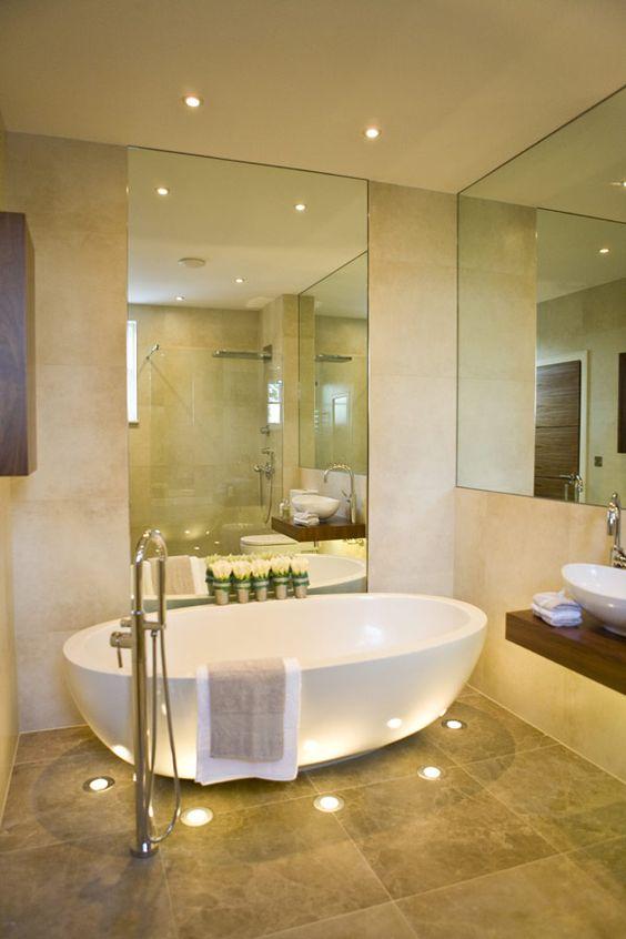 Mettere in risalto la vasca da bagno Ecco 20 idee decorative Ispiratevi