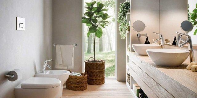 Idee Tende Per Bagno Moderne.Tende Per Il Bagno Moderno Casa Moderna In Legno Dallo